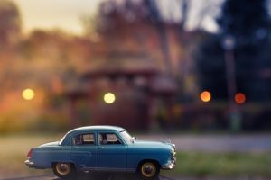 Malý model auta